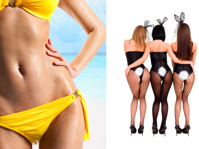Bunny Girl/Bikini Girl