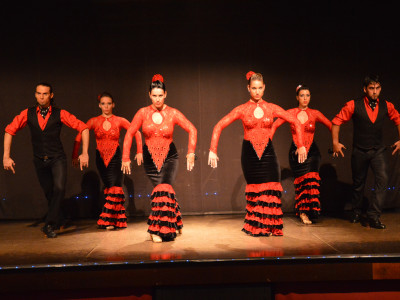 Serata a base di flamenco