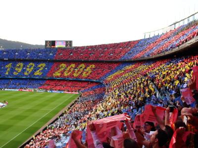 Partita di calcio FCB