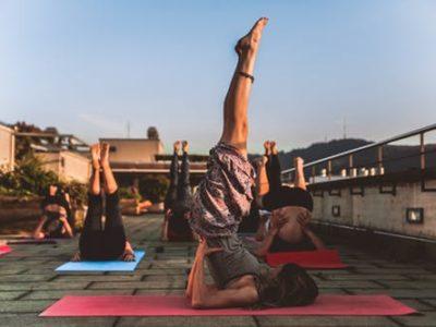 Spa & Yoga en terrasse